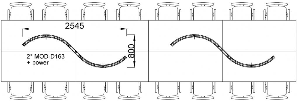 LUOlight Big S-shape