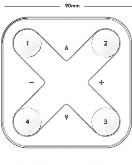 LUOlight X-press wall switch